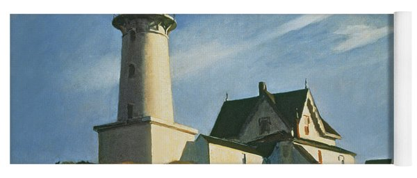 Lighthouse At Two Lights Yoga Mat