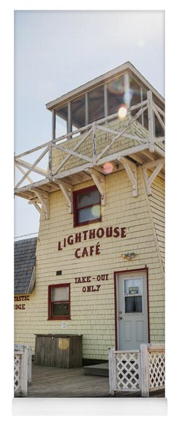 Lighthouse Cafe In North Rustico Yoga Mat