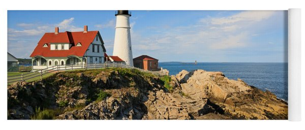 Lighthouse In The Sun Yoga Mat