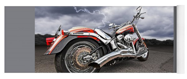 Lightning Fast - Screamin' Eagle Harley Yoga Mat