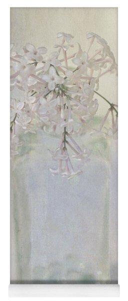 Lilac Flower Yoga Mat