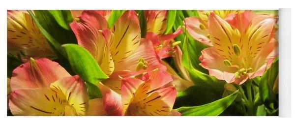 Lilies Yoga Mat