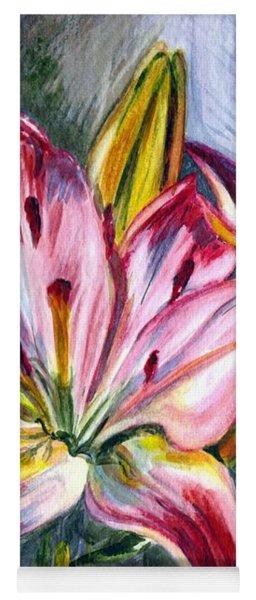 Lilies Twin Yoga Mat