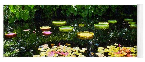 Lilly Garden Yoga Mat