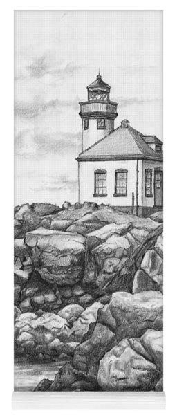 Lime Kiln Lighthouse Yoga Mat