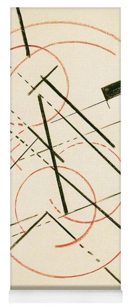 Linear Composition Yoga Mat