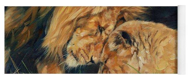 Lion  Love Yoga Mat