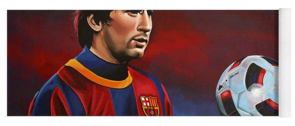 Lionel Messi 2 Yoga Mat
