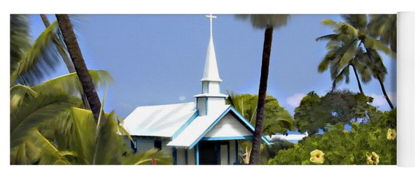 Little Blue Church Kona Yoga Mat