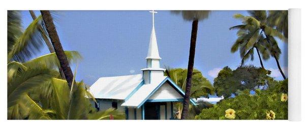 Little Blue Church Kona Yoga Mat
