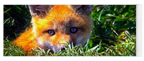 Little Red Fox Yoga Mat