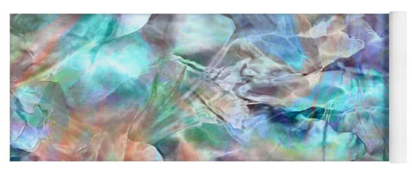 Living Waters - Abstract Art Yoga Mat
