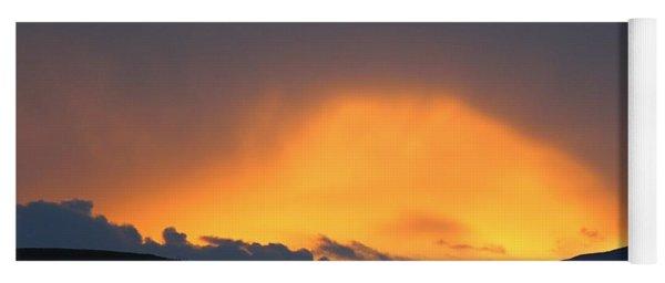 Livingstone Range Sunset Yoga Mat