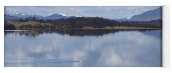 Loch Insh - Spring Reflections Yoga Mat
