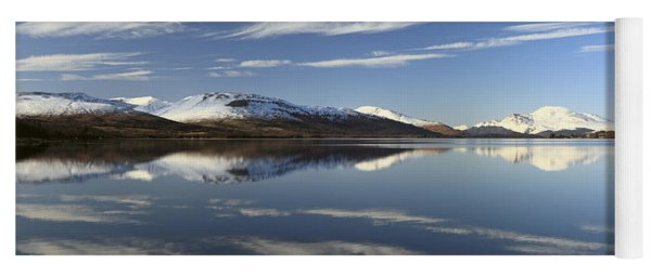 Loch Lomond Reflection Yoga Mat
