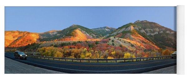 Logan Canyon Yoga Mat