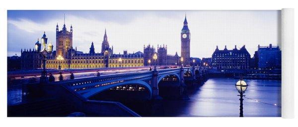 London, England, United Kingdom Yoga Mat