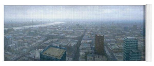 London Skyline Cityscape Yoga Mat