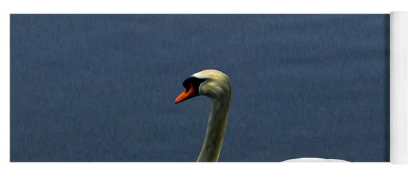 Lonesome Swan Yoga Mat