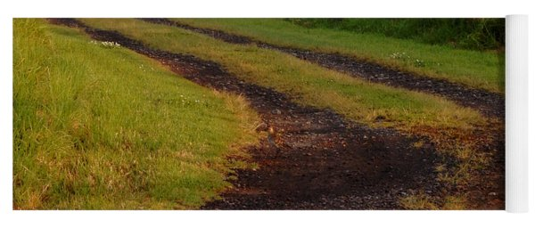 Long Dirt Road Yoga Mat