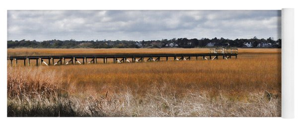 Long Marsh Dock Yoga Mat