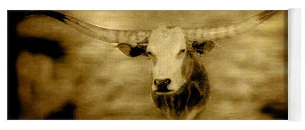 Longhorn Bull Yoga Mat