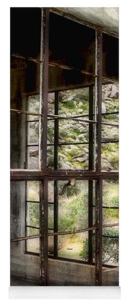 Looking Through The Window By Diana Sainz Yoga Mat