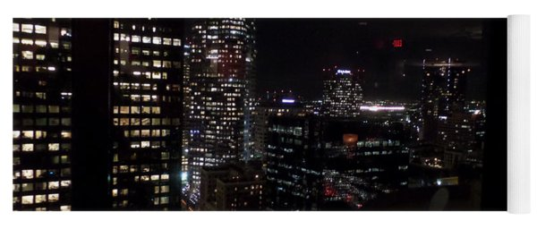 Los Angeles Nightscape Yoga Mat