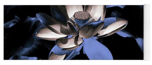 Lotus By Night Yoga Mat