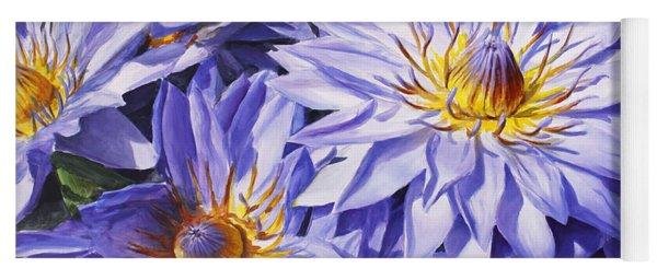 Lotus Light - Hawaiian Tropical Floral Yoga Mat