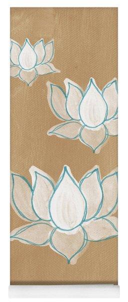 White Lotus Flower Yoga Mats Fine Art America