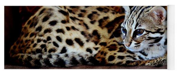 Lounging Leopard Yoga Mat