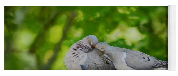 Love Doves  Yoga Mat