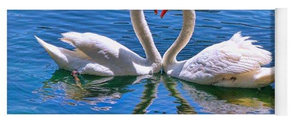 Love For Lauren On Lake Eola By Diana Sainz Yoga Mat
