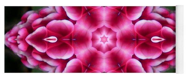 Love Is Divine Mandala Yoga Mat