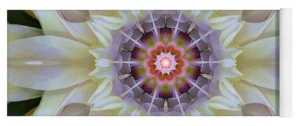 Love Star Flower Mandala Yoga Mat