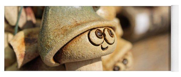 Lovely Eyes Yoga Mat