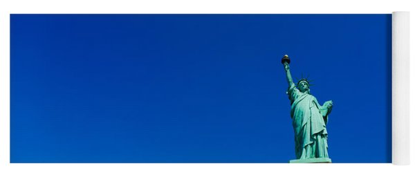 Low Angle View Of Statue Of Liberty Yoga Mat