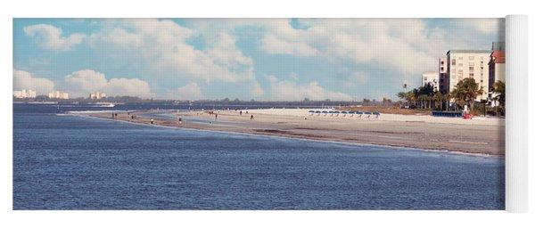 Low Tide - Fort Myers Beach Yoga Mat