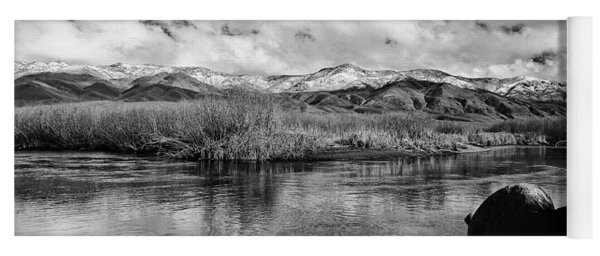 Lower Owens River Yoga Mat