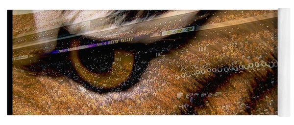 Lsu - Eye Of The Tiger Yoga Mat