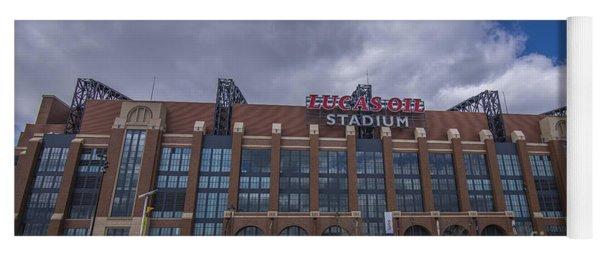 Lucas Oil Stadium Indianapolis Colts Clouds Yoga Mat