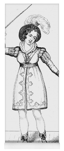 Lucia Elizabeth Mathews (1797-1856) Yoga Mat
