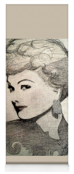 Lucille Ball Yoga Mat