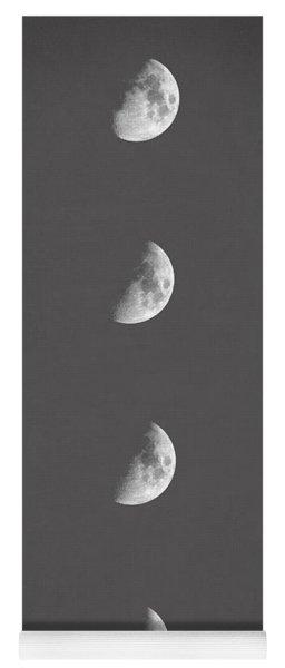 Lunar Phases Yoga Mat