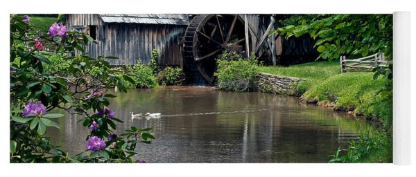 Mabry Mill In May Yoga Mat