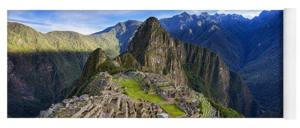 Machu Picchu Yoga Mat