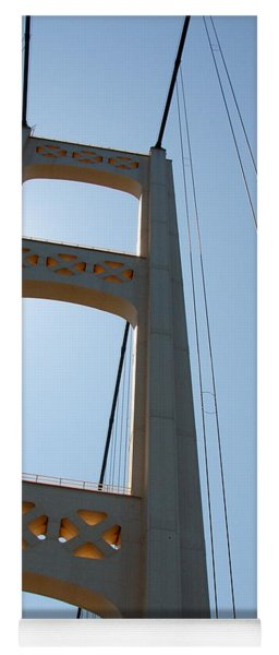 Mackinac Bridge Yoga Mat