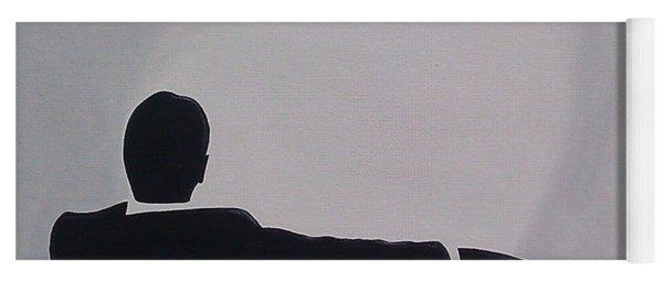 Mad Men In Silhouette Yoga Mat