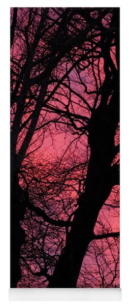 Magic Sunset  Yoga Mat